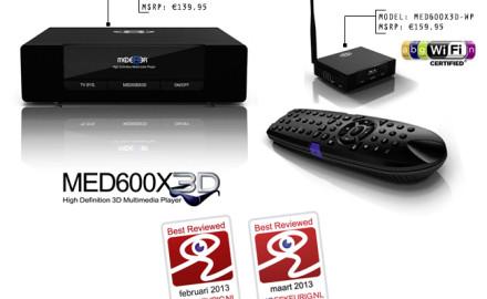 Mede8er MED600X3D & MED600X3D-WP