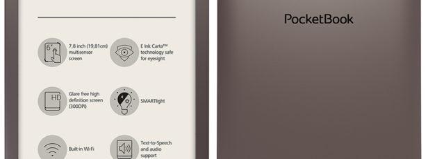 PocketBook InkPad 3 Brązowy + 1100 ebooków GRATIS!
